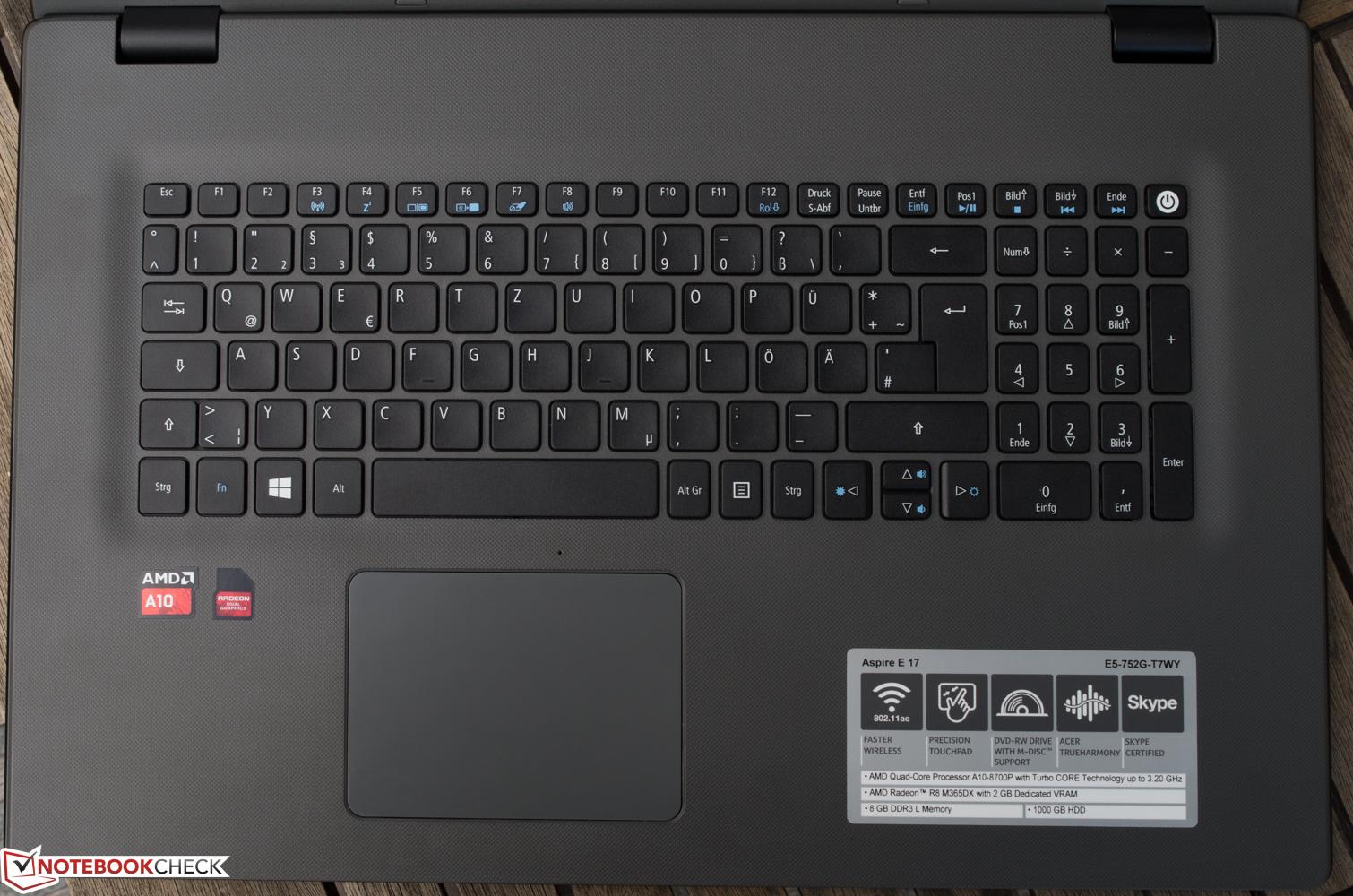 Acer Aspire E5-752G New