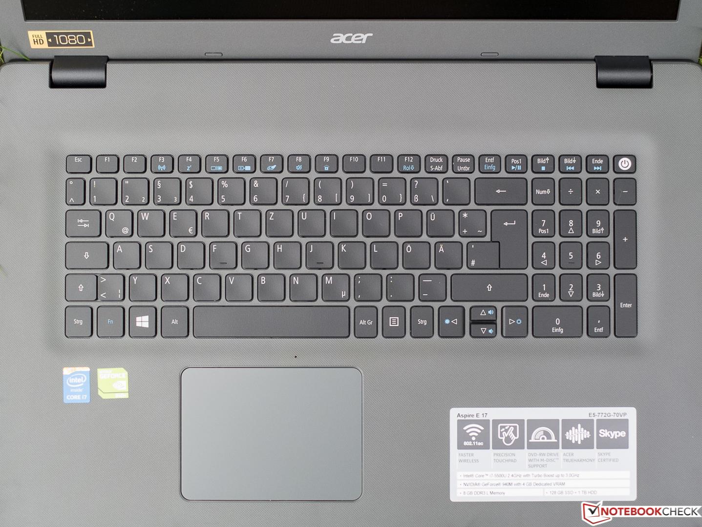 Acer Aspire E5-772G Intel Graphics Driver Download