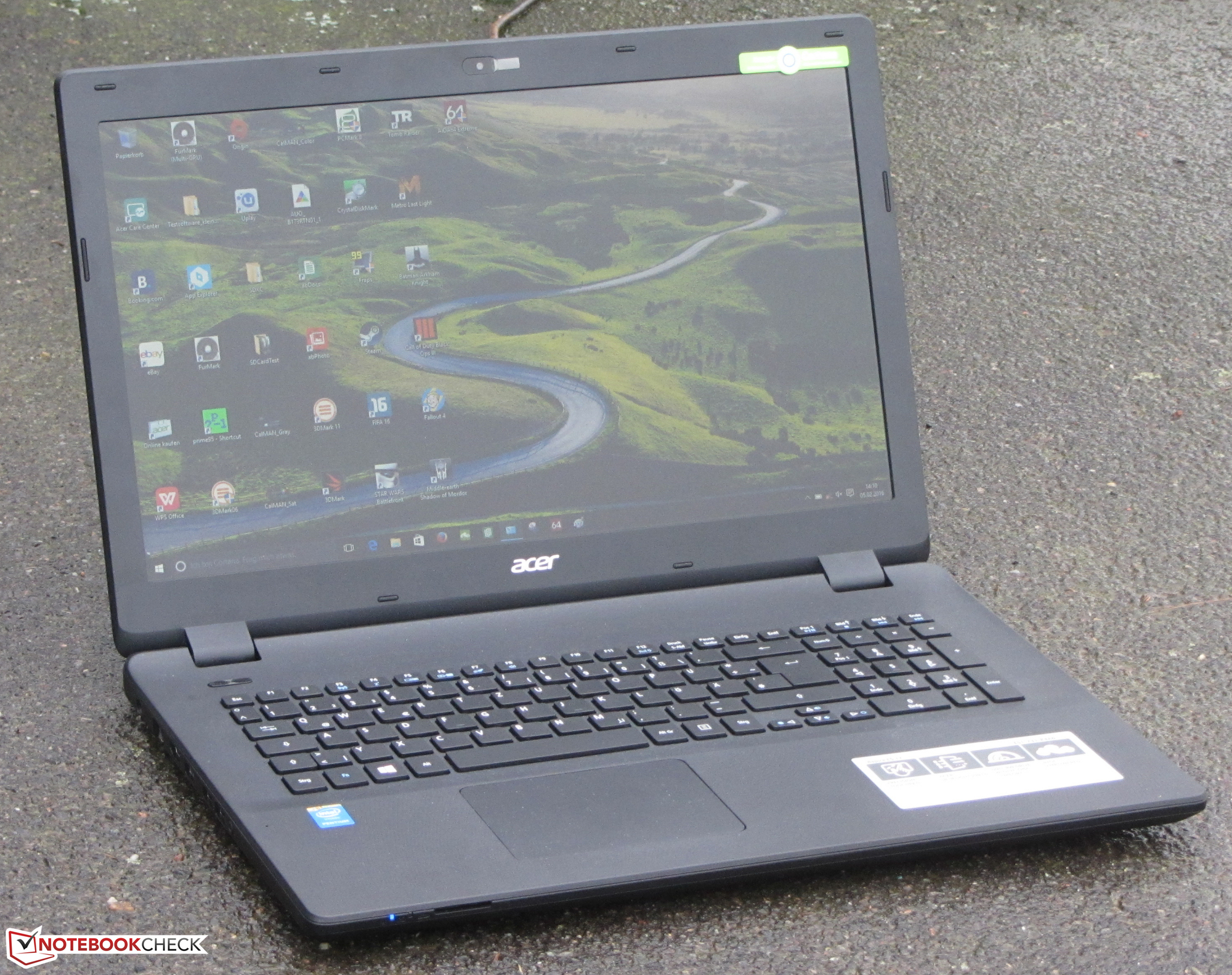 Drivers Acer Aspire ES1-731 Intel WLAN