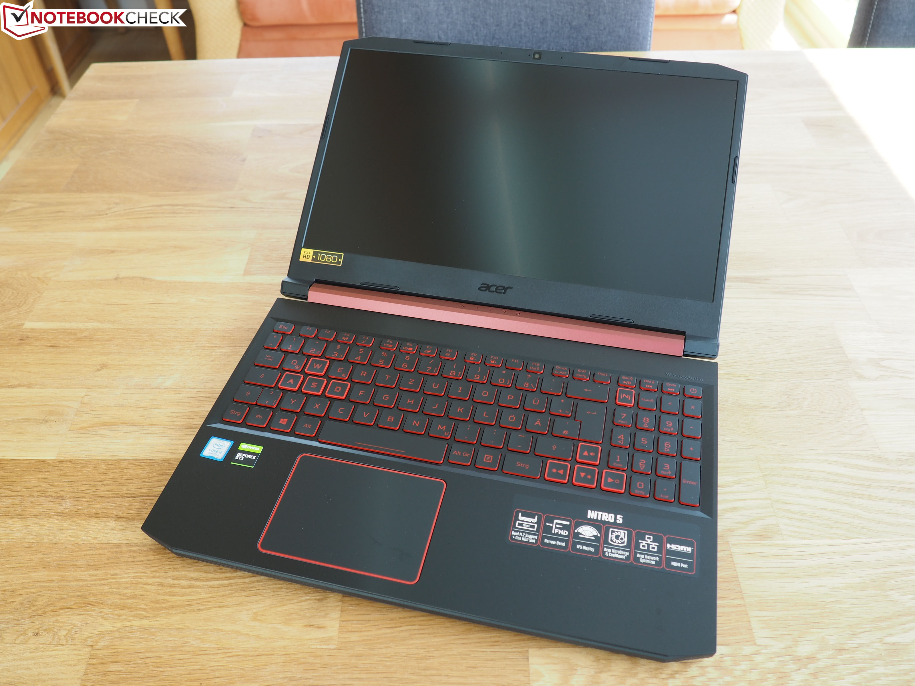 Acer Nitro 5 (Core i5-9300H, GeForce GTX 1650) Laptop Review