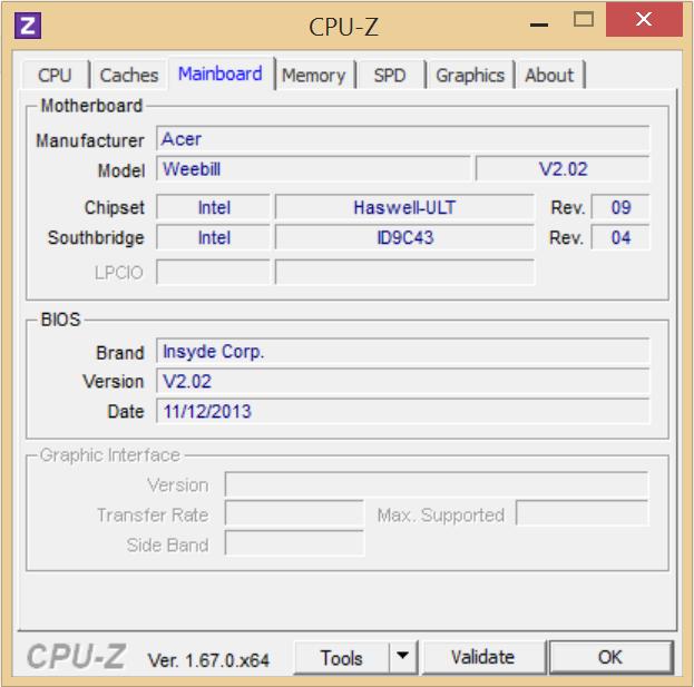 Customize Acer Aspire laptop S3 i7 (USED)