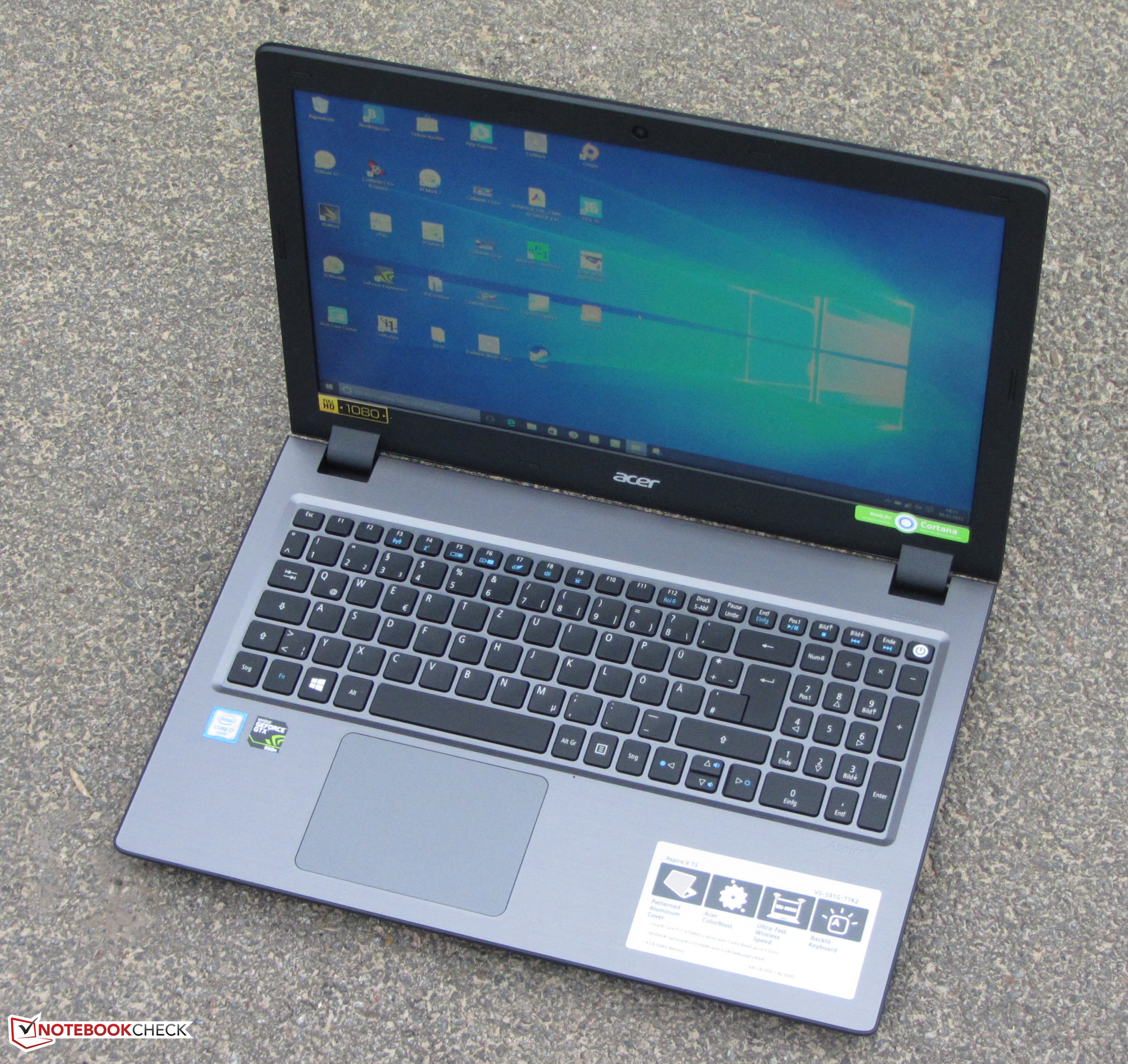 Acer Aspire V5-591G Intel Graphics 64x