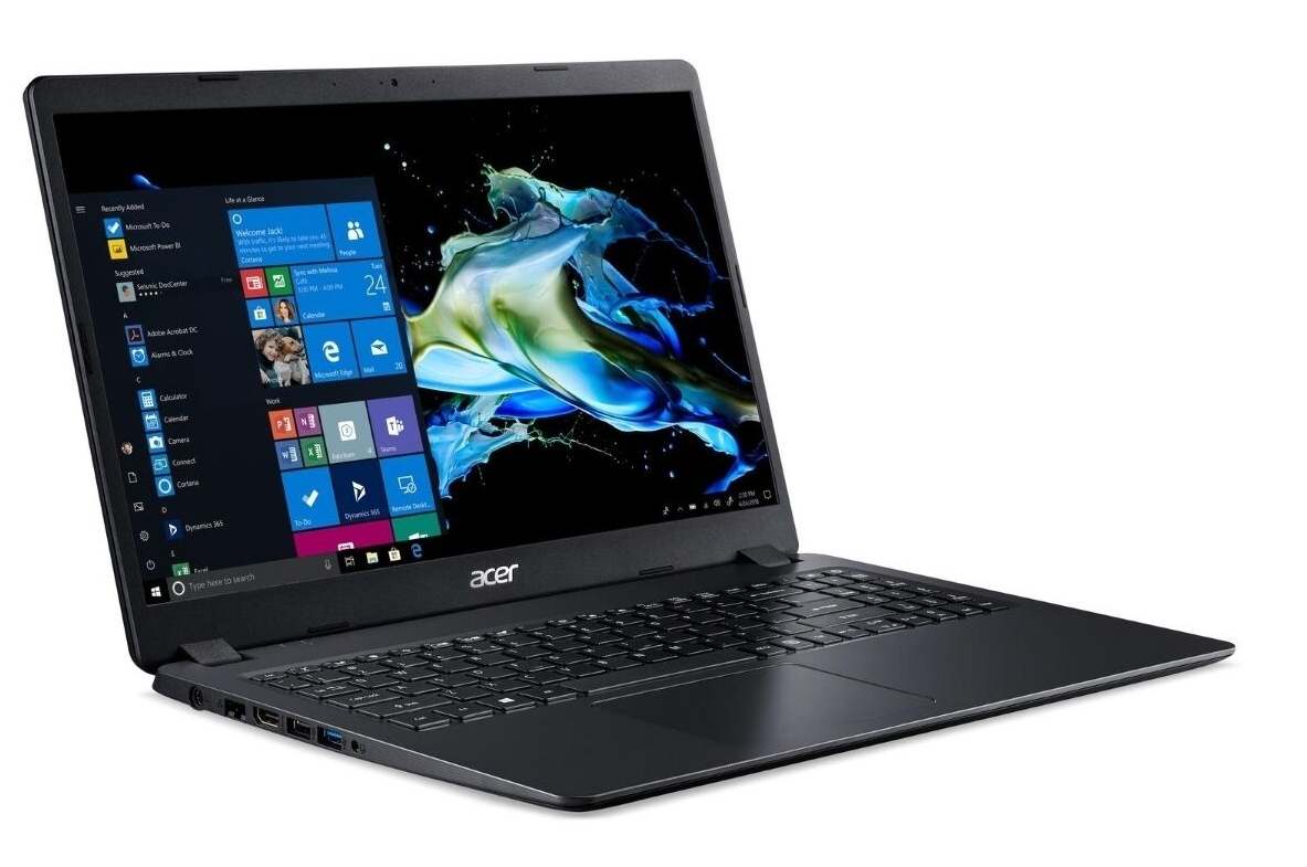The Acer Extensa 15 remains cool and quiet