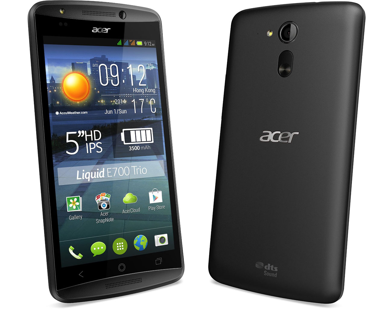 Acer Liquid E700 Trio Smartphone Review Notebookcheck