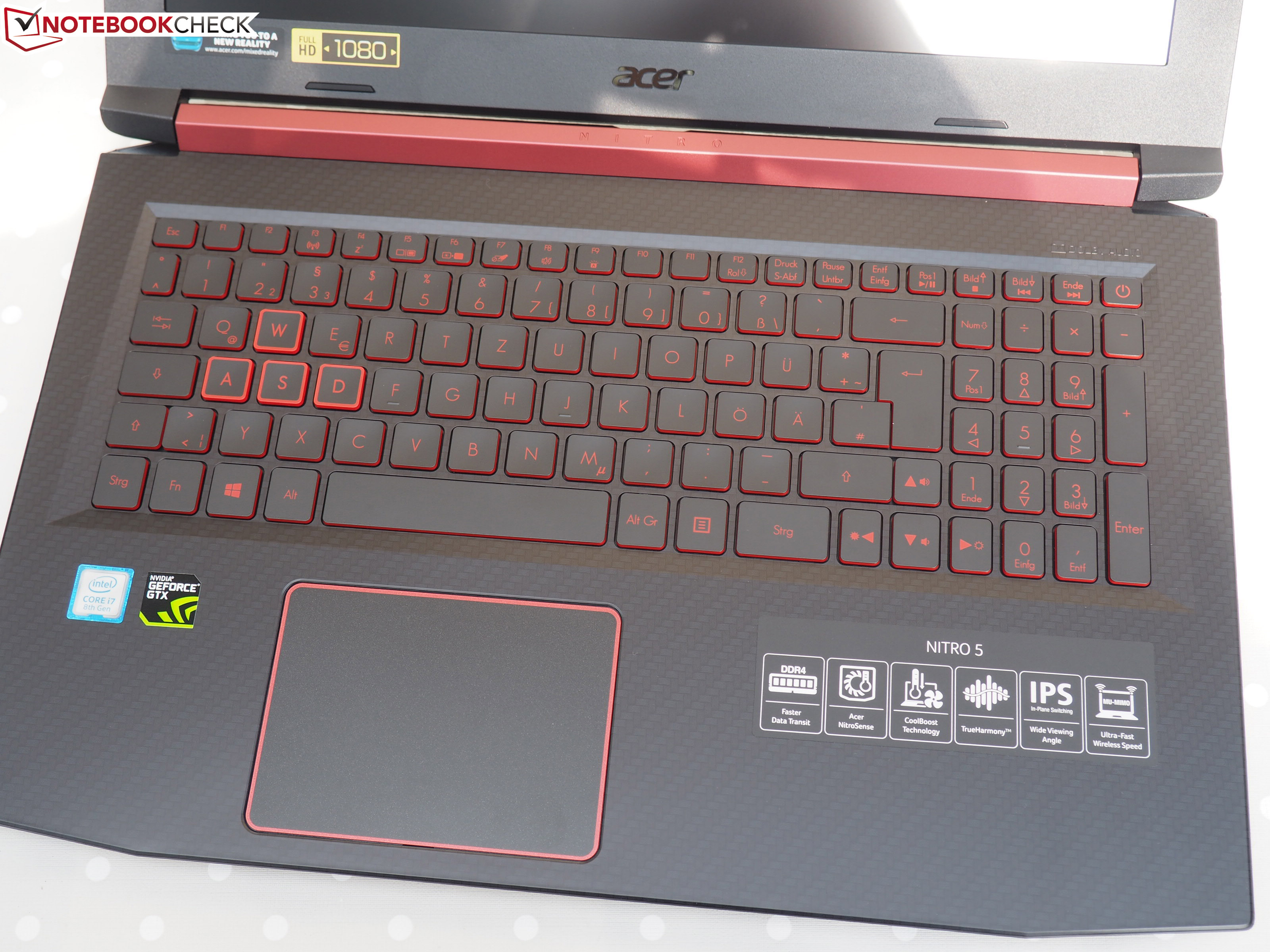 Acer Nitro 5 (i7-8750H, GTX 1050 Ti, FHD) Laptop Review