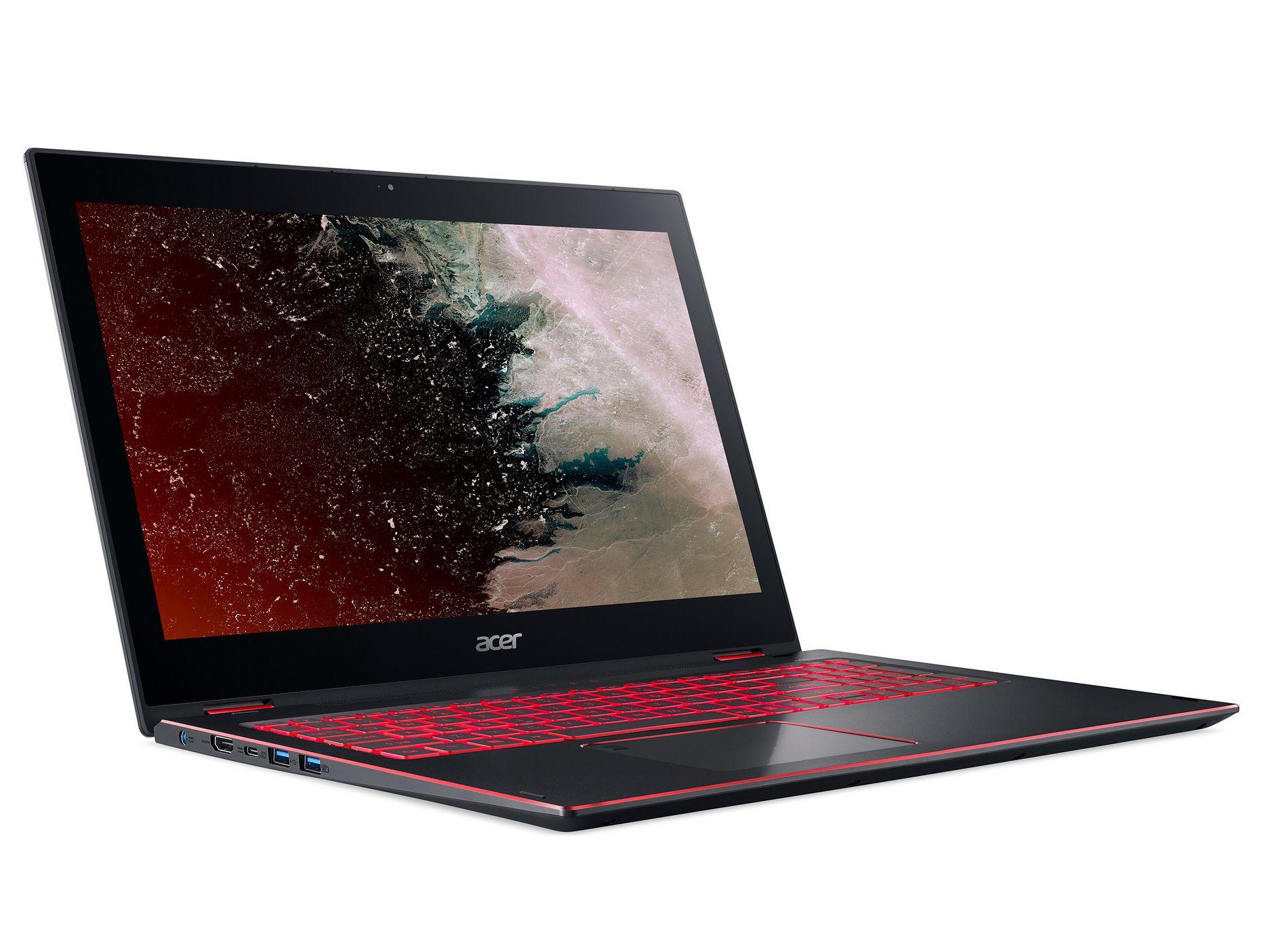 Acer Nitro 5 Spin Np515 I7 8550u Gtx 1050 Convertible Review Notebookcheck Reviews