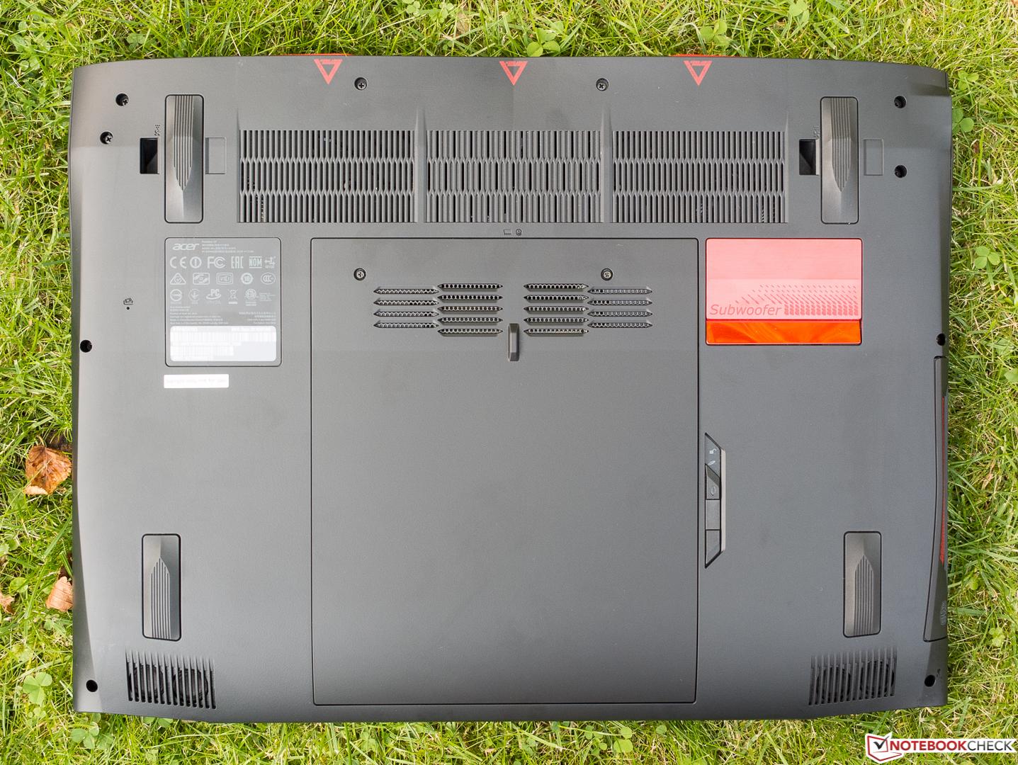 Acer Predator 17 7700hq Gtx 1070 Uhd Laptop Review G9 793