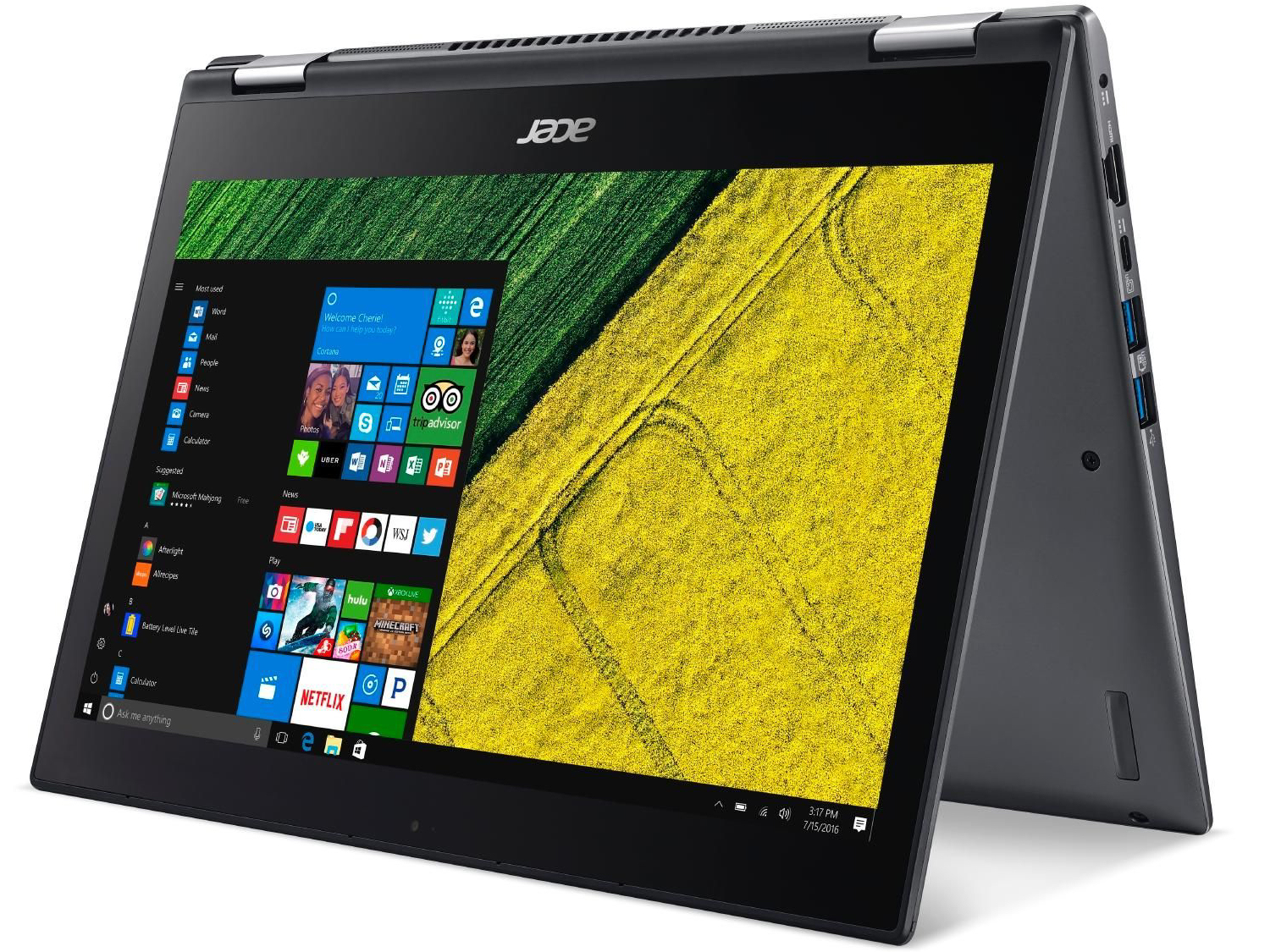 Acer Spin 5 SP513-52N-54SF (i5-8250U, FHD) Convertible