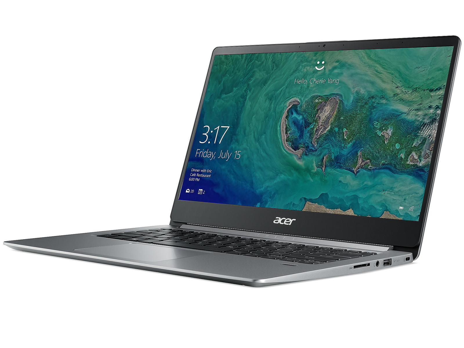 Acer Swift 1 SF114-32 (N5000, SSD, FHD) Laptop Review - NotebookCheck.net Reviews