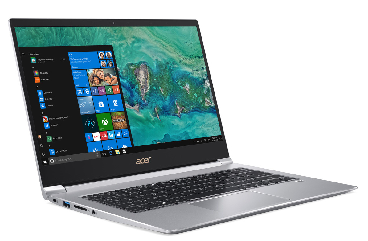 Acer Swift 3 SF314-55 (i3-8145U, SSD, FHD) Laptop Review ...