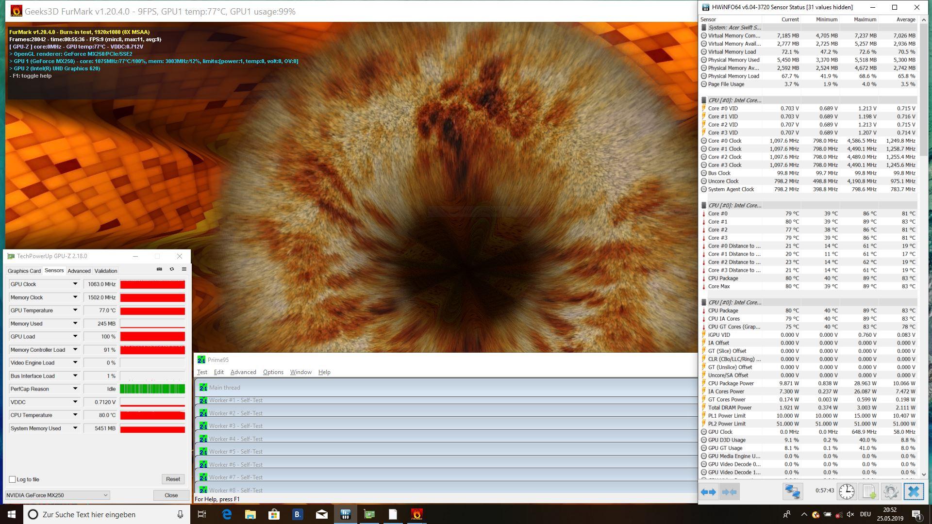 Acer Swift 3 SF314 (i7-8565U, MX250) Laptop Review - NotebookCheck.net Reviews