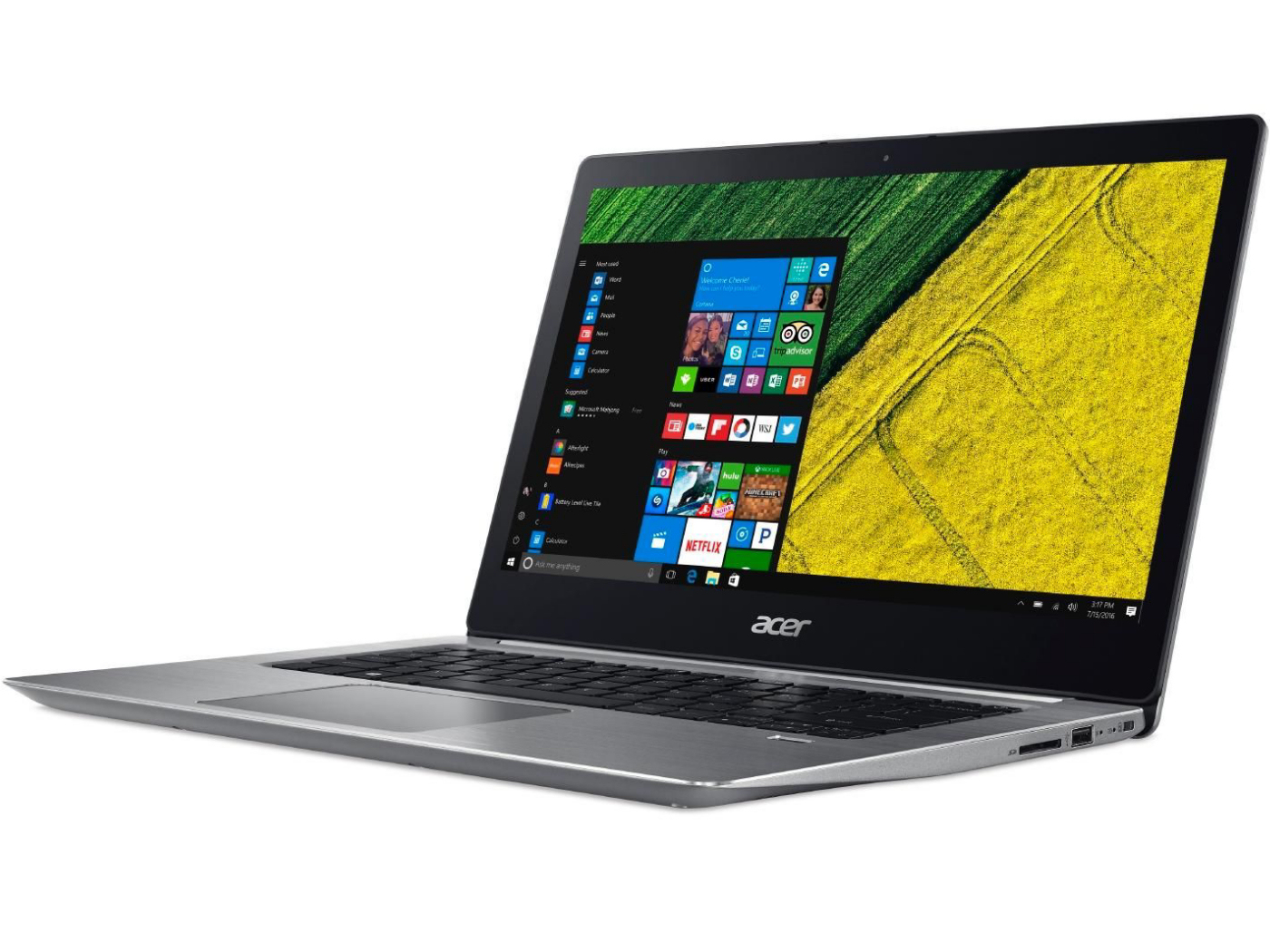 Acer Swift 3 Sf315 8250u Mx150 Fhd Laptop Review Notebookcheck Front Panel Wiring Issue Solved Components The 51g 57e5 Courtesy Of Cyberport