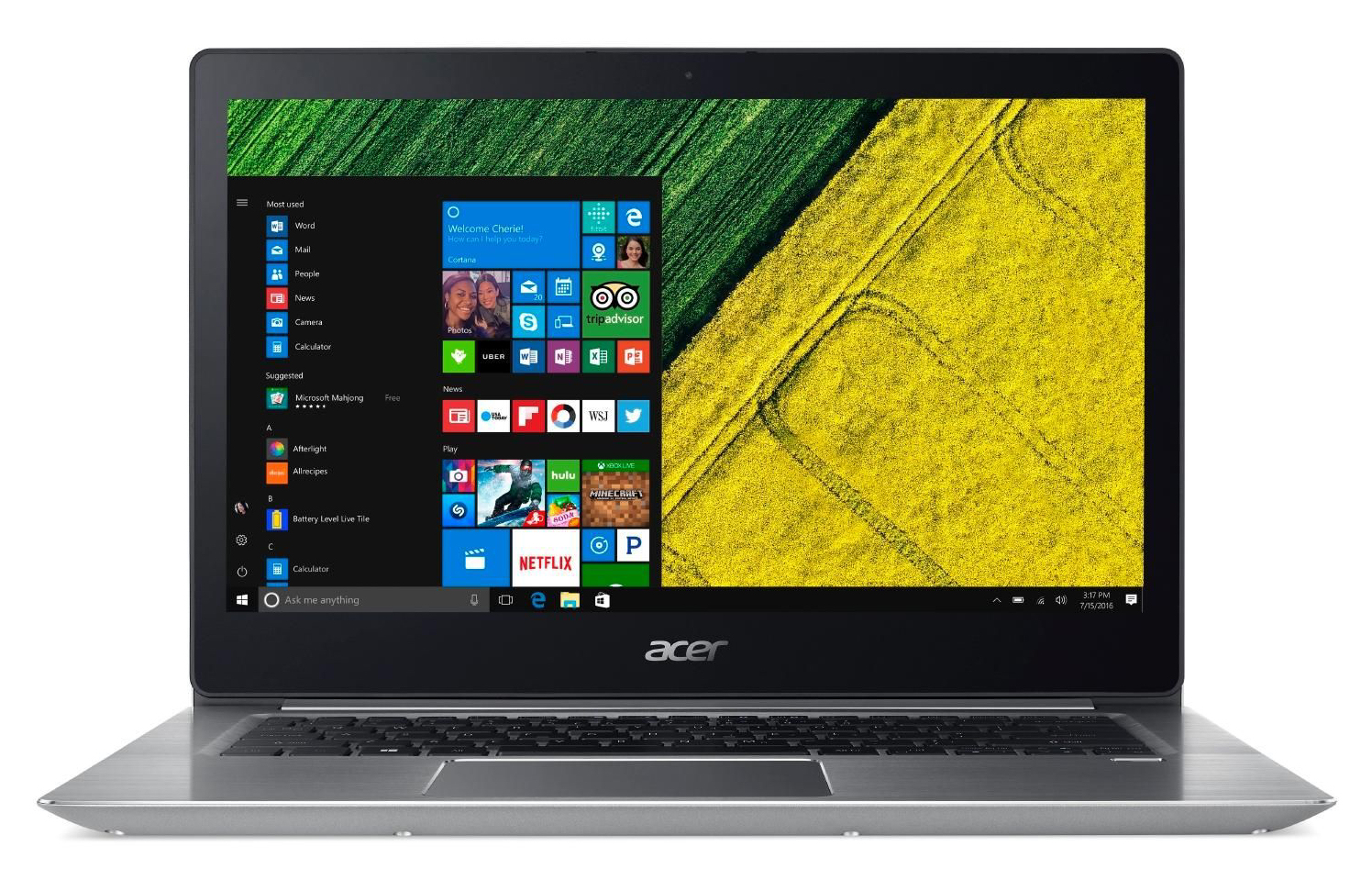 Acer Swift 3 Sf315 8250u Mx150 Fhd Laptop Review