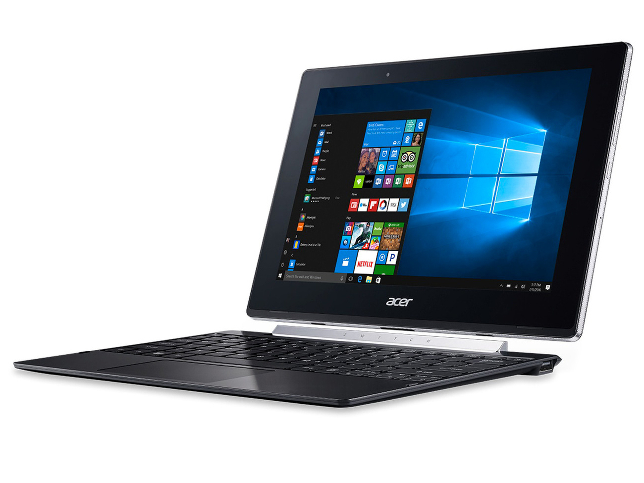 Acer Switch V 10 Sw5 X5 Z8350 Convertible Review