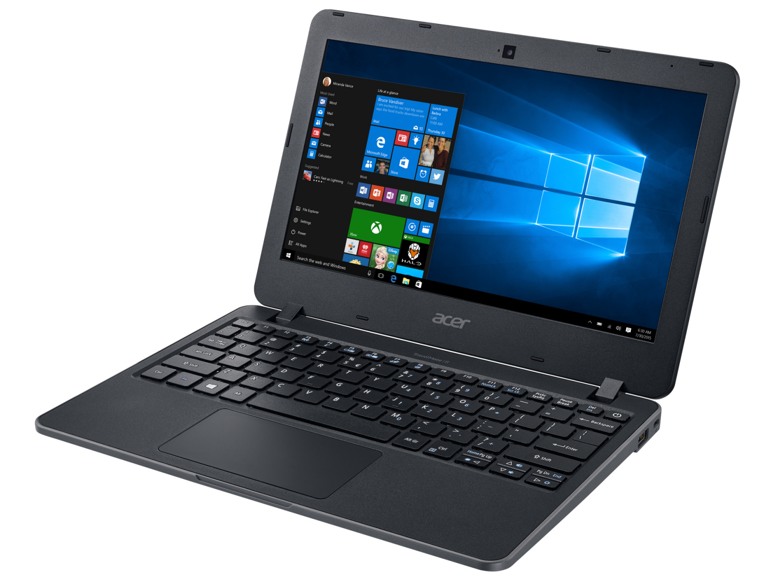 Acer TravelMate B117-M-P16Q Netbook Review - NotebookCheck.net Reviews