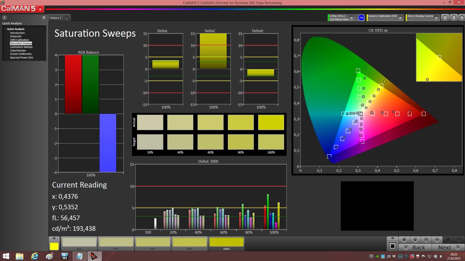 Alienware 17 Colors Alienware 17 Color Profile