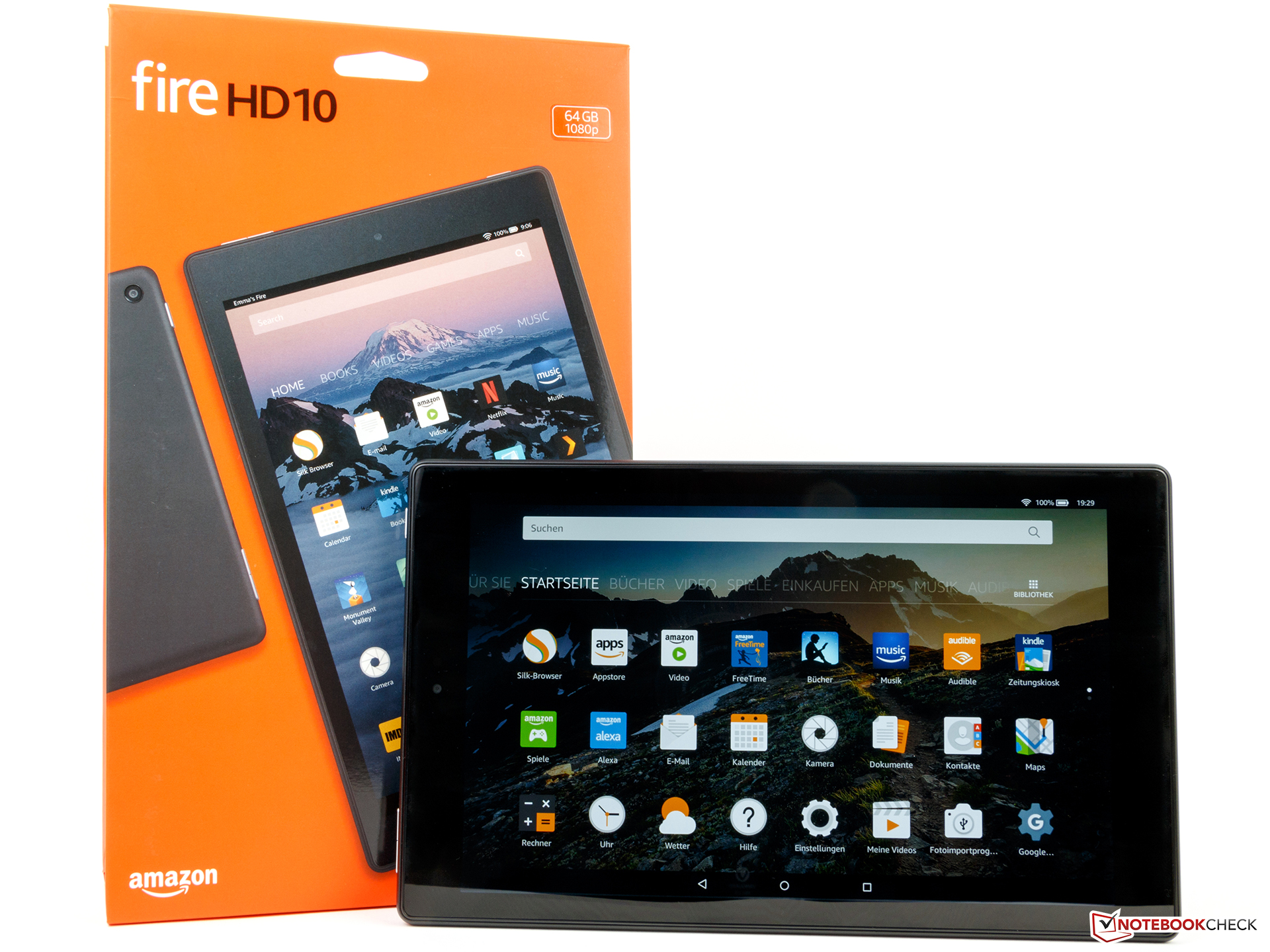 Amazon Fire HD 10 (2017) Tablet Review - NotebookCheck net