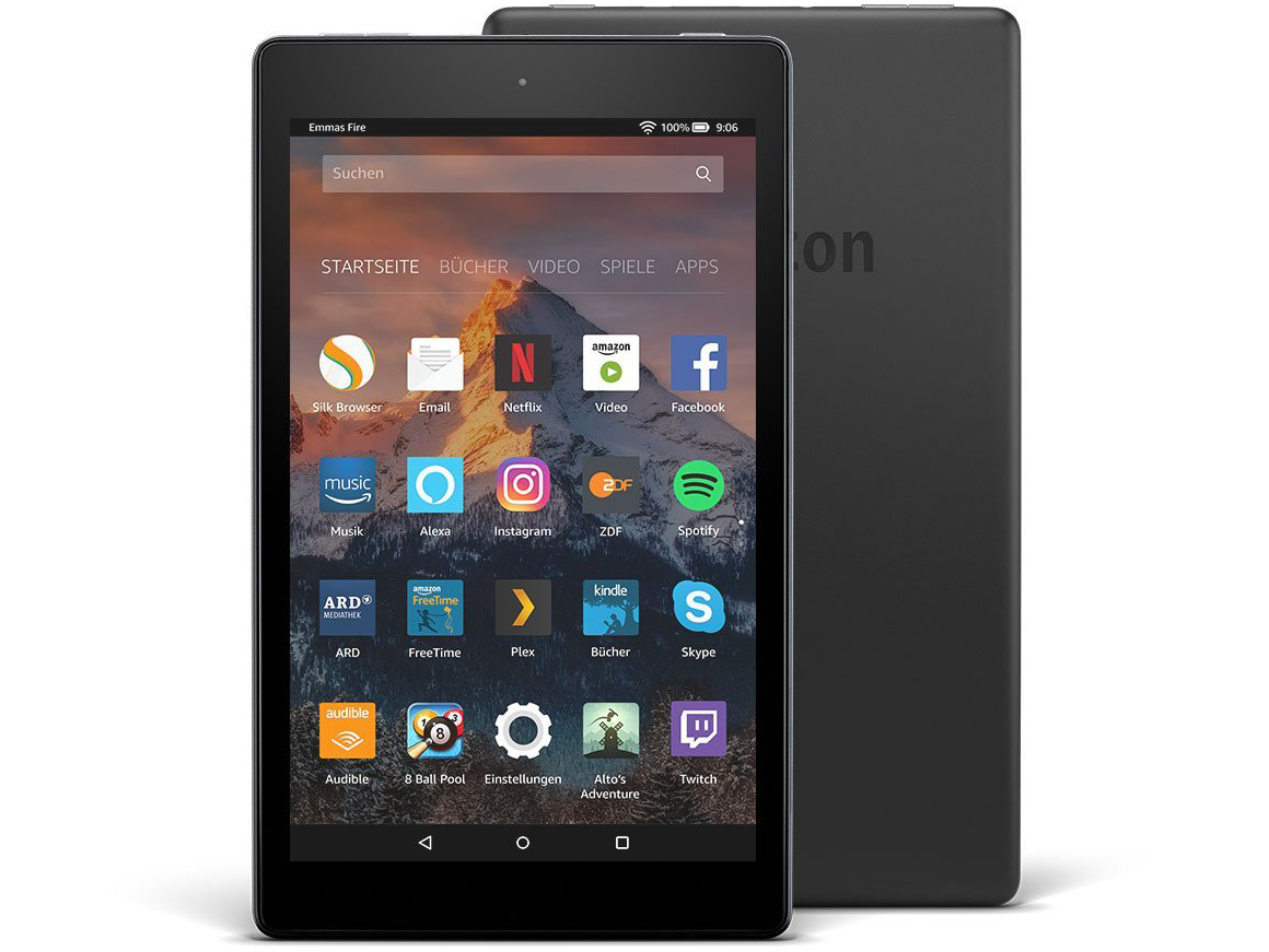 Amazon Fire HD 8 (2017) Tablet Review