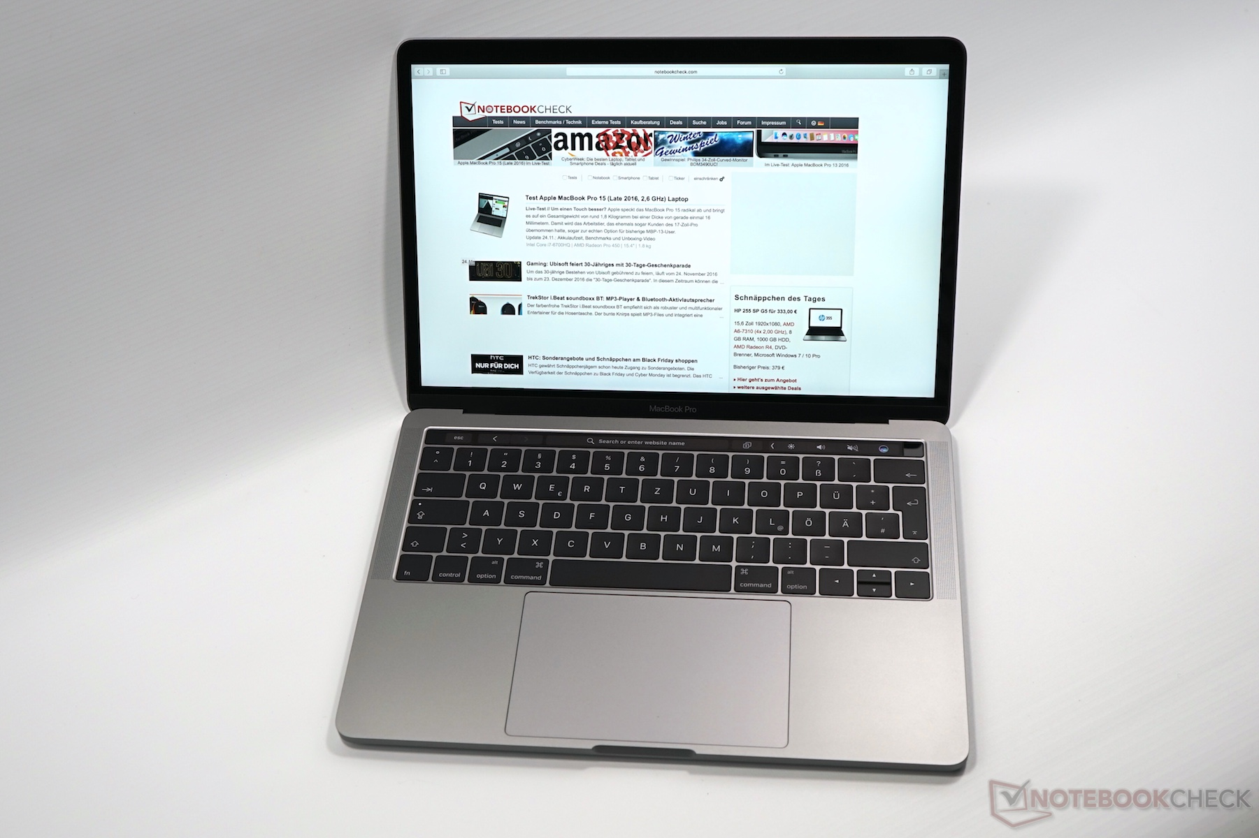 Apple MacBook Pro 13 (Late 2016, 2 9 GHz i5, Touch Bar) Notebook