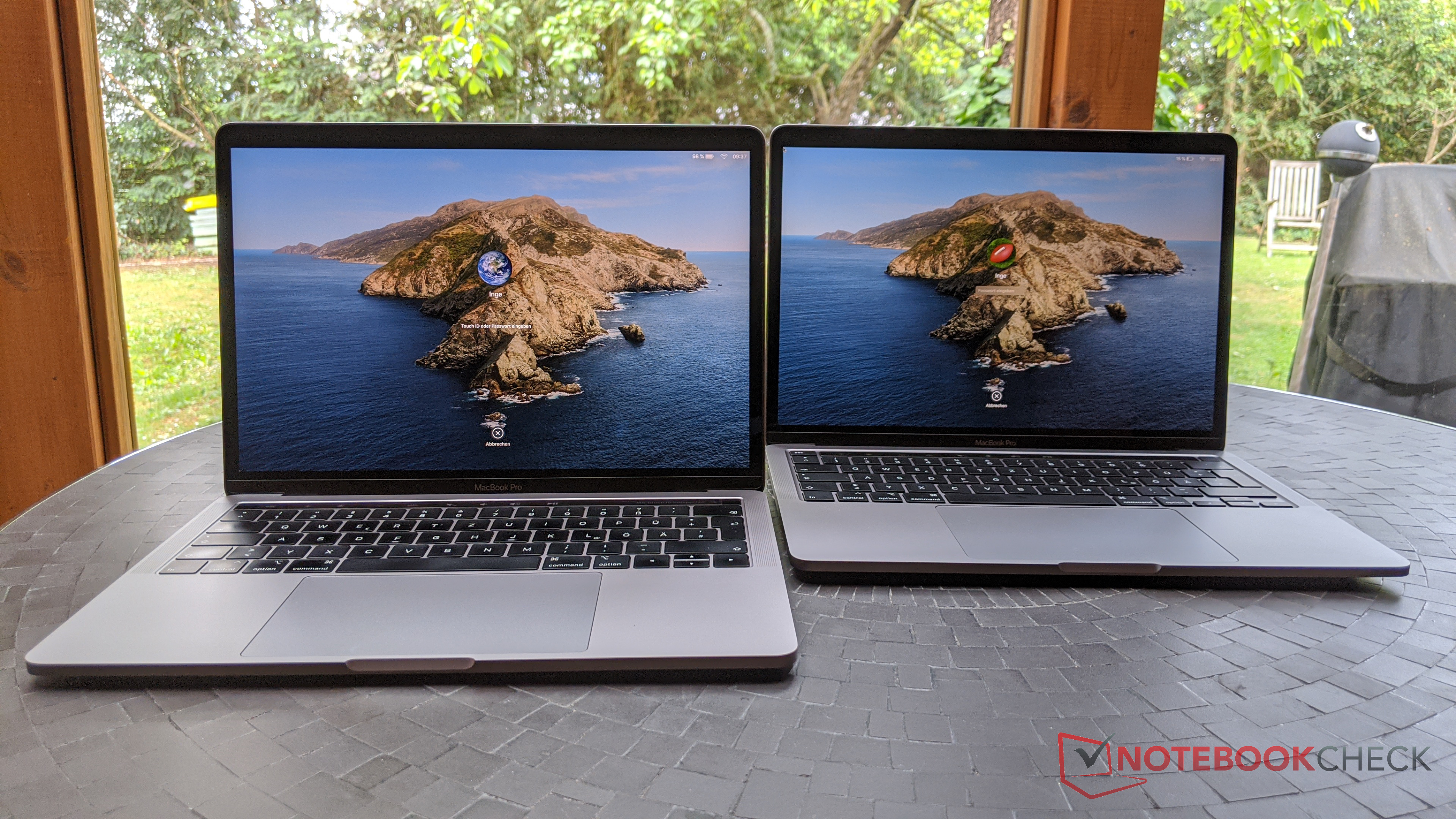 Macbook Pro 13 2020 In Review Apple S Subnotebook Only Gets The Mandatory Update Notebookcheck Net Reviews