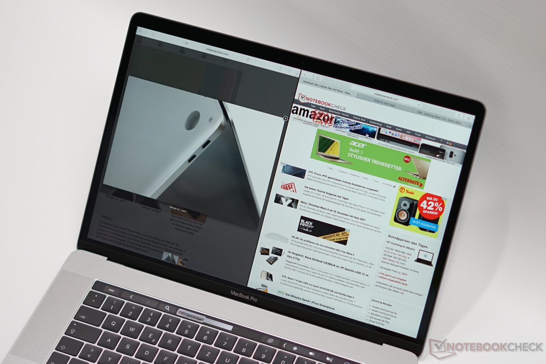 Apple Macbook Pro 15 Late 2016 26 Ghz 450 Notebook Review Retina Mlw82 15inch Touchbar Core I7 16gb 512gb Silver Full Resolution