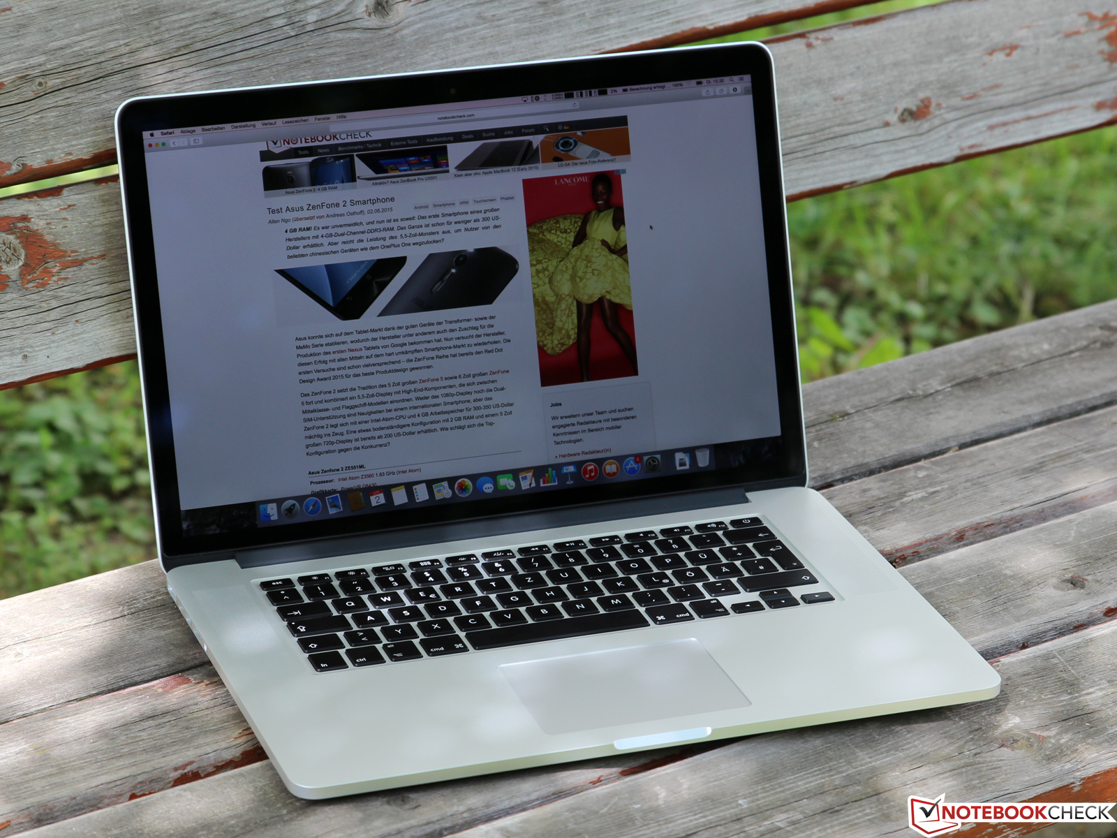 apple macbook pro retina 15 mid 2015 review. Black Bedroom Furniture Sets. Home Design Ideas