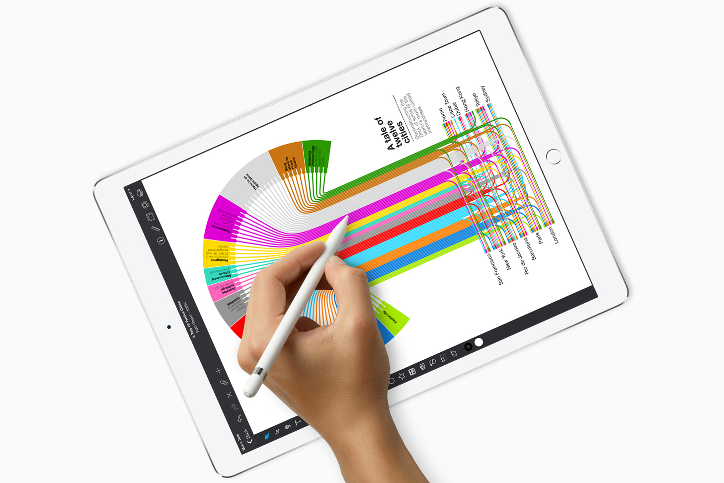 Apple Ipad Pro 129 2017 Tablet Review Reviews 105 512gb New Silver Wifi Only