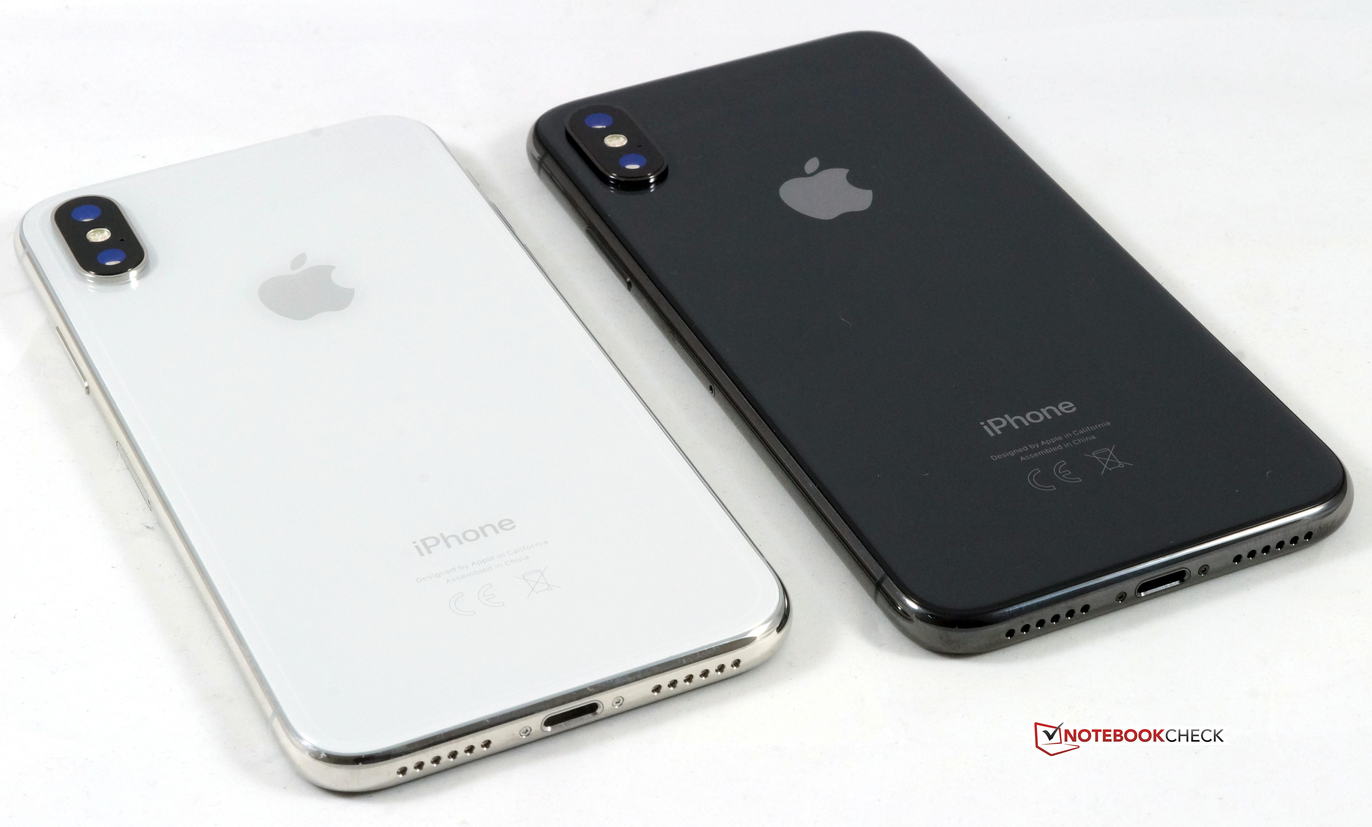notebookcheck iphone x