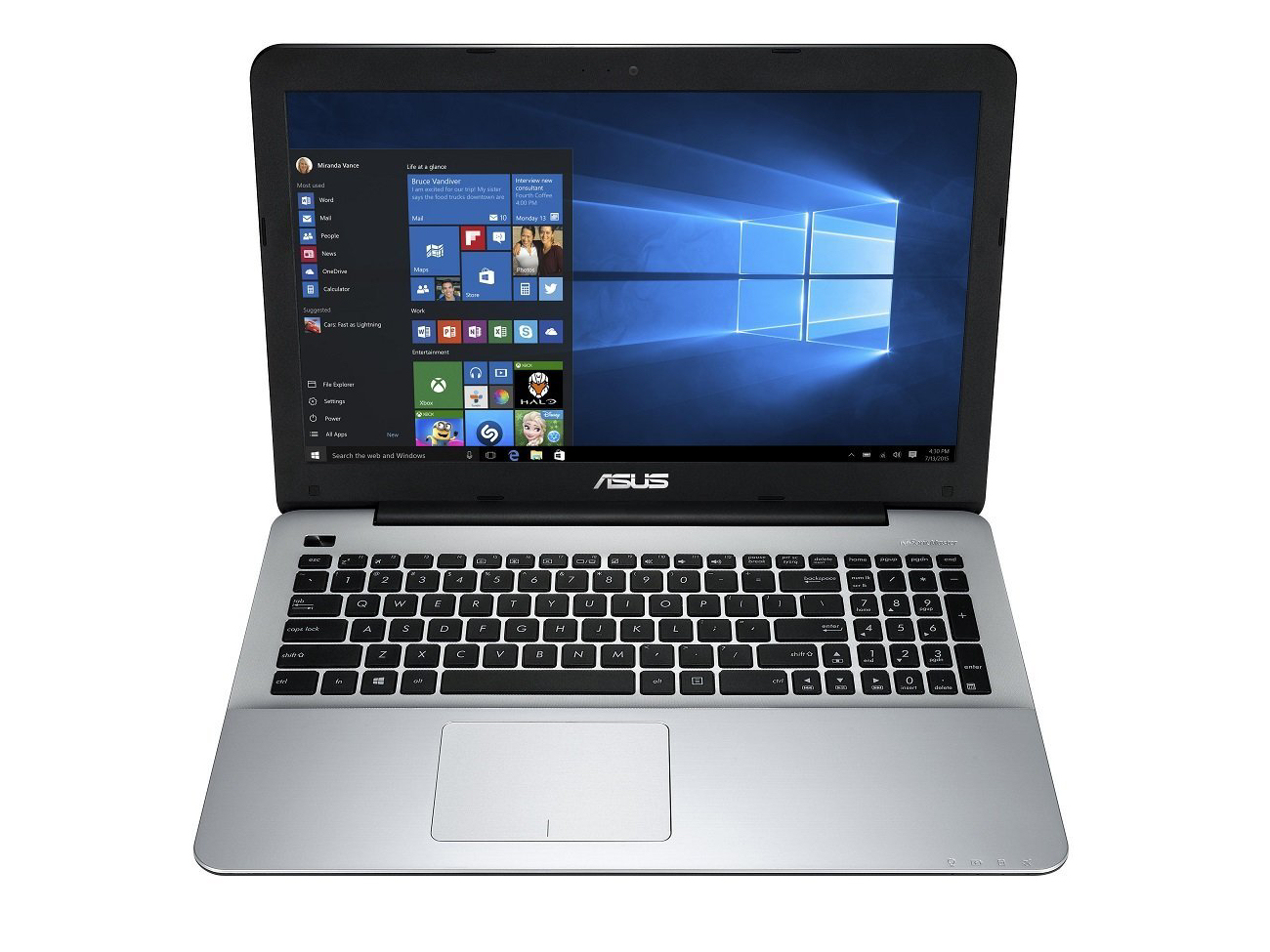 Asus F555ub Xo043t Notebook Review Notebookcheck Net Reviews