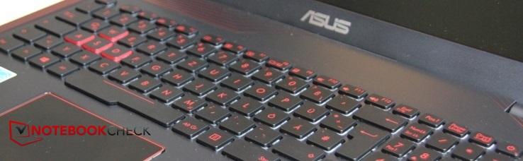 Asus FX553VD (7700HQ, GTX 1050) Laptop Review - NotebookCheck net