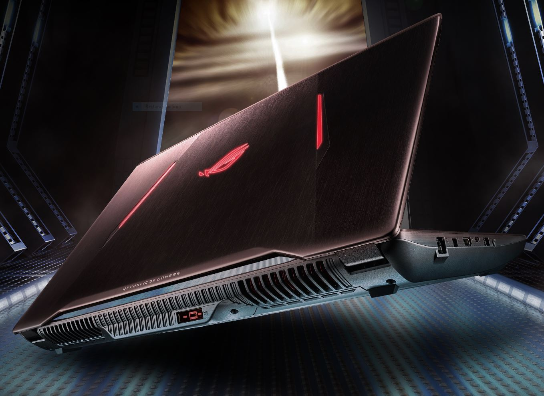 Asus ROG Strix GL702VI (i7-7700HQ, GTX 1080) Laptop Review