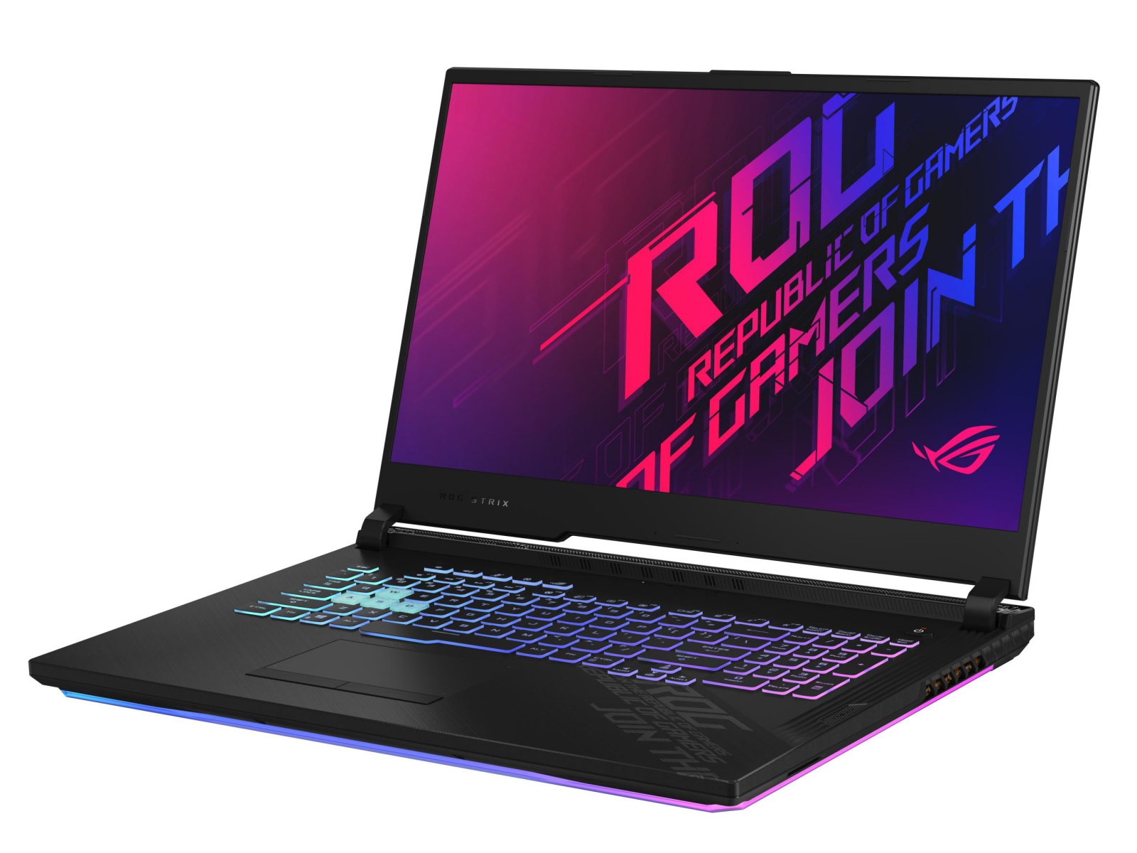 Asus ROG Strix G17 G712LWS in review: Powerful gaming machine with  integrated light show - NotebookCheck.net Reviews