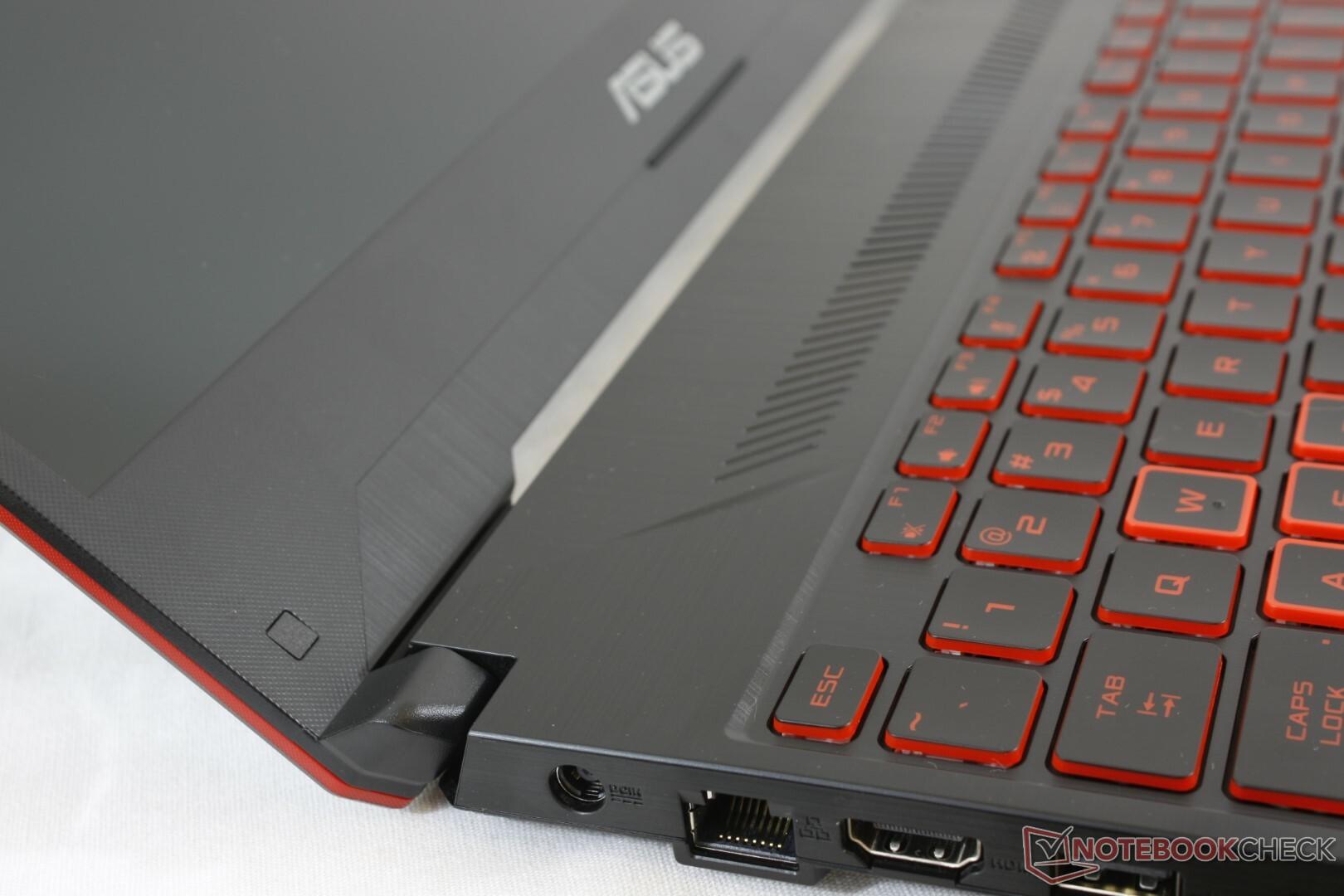 Asus TUF FX505DY (Ryzen 5 3550H, Radeon RX 560X) Laptop Review