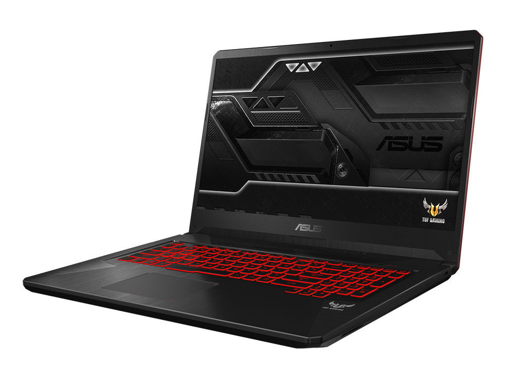 3ea901457a9b Asus TUF Gaming FX705GE (i7-8750H, GTX 1050 Ti, SSD, FHD) Laptop Review -  NotebookCheck.net Reviews