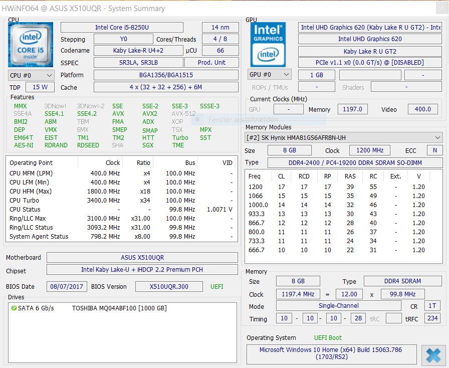 Asus VivoBook 15 Laptop (i5-8250U, GeForce 940MX, FHD) Review