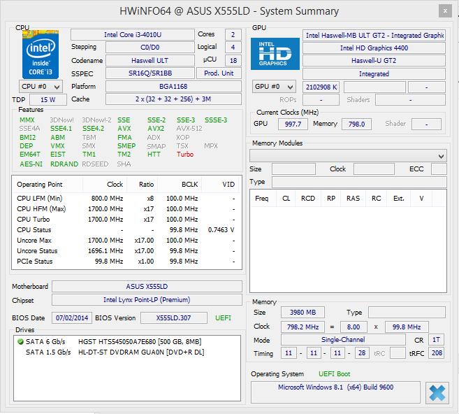 ASUS X555LA (IX-4XXXXU) ATKACPI DRIVERS FOR PC