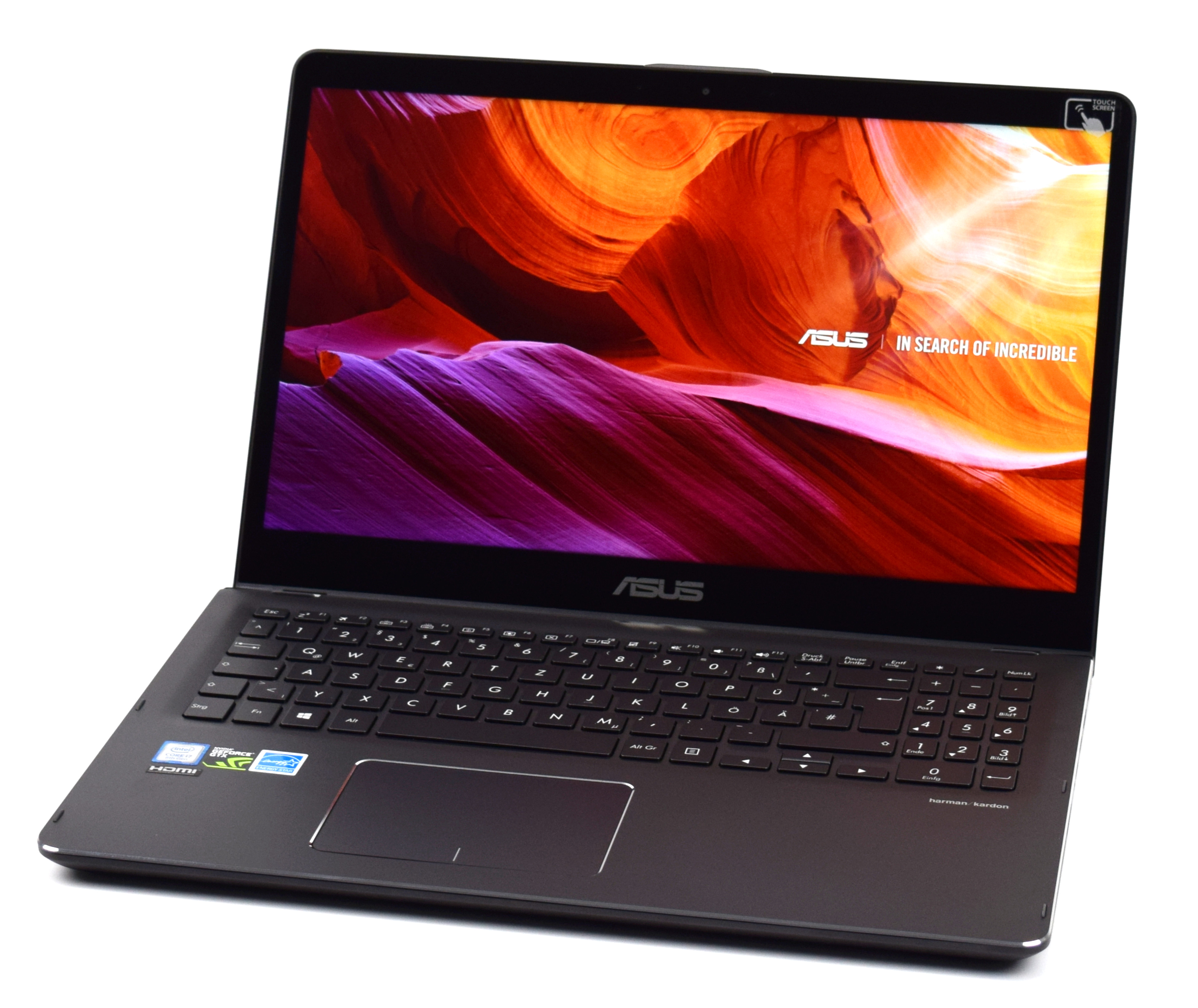 Asus ZenBook Flip 15 (i7-8550U, GTX 1050, 4K, SSD, HDD) Convertible Review  - NotebookCheck.net Reviews
