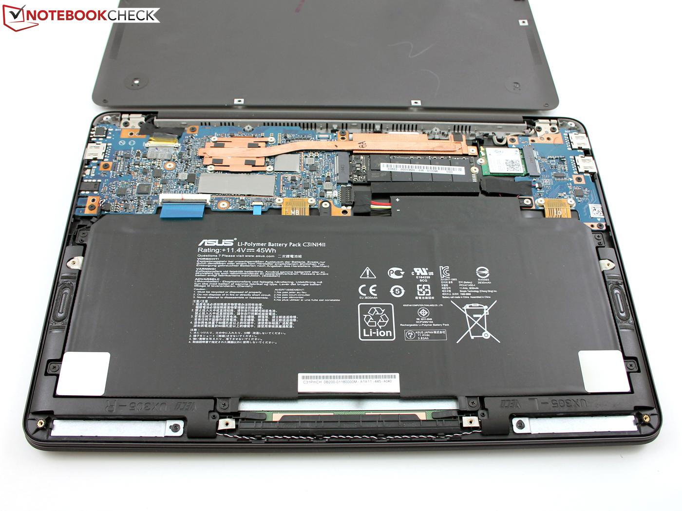 Asus Zenbook UX305CA-FB055T Subnotebook Review ...