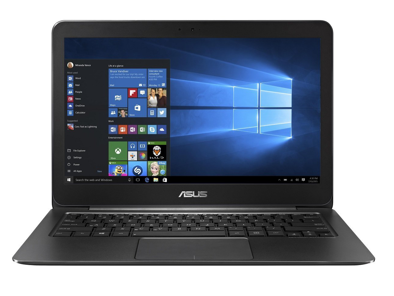 Asus Zenbook Ux305ca Fb055t Subnotebook Review With Input Level Control Http Wwwcasperelectronicscom Images In Test Model Courtesy Of Cyberportde