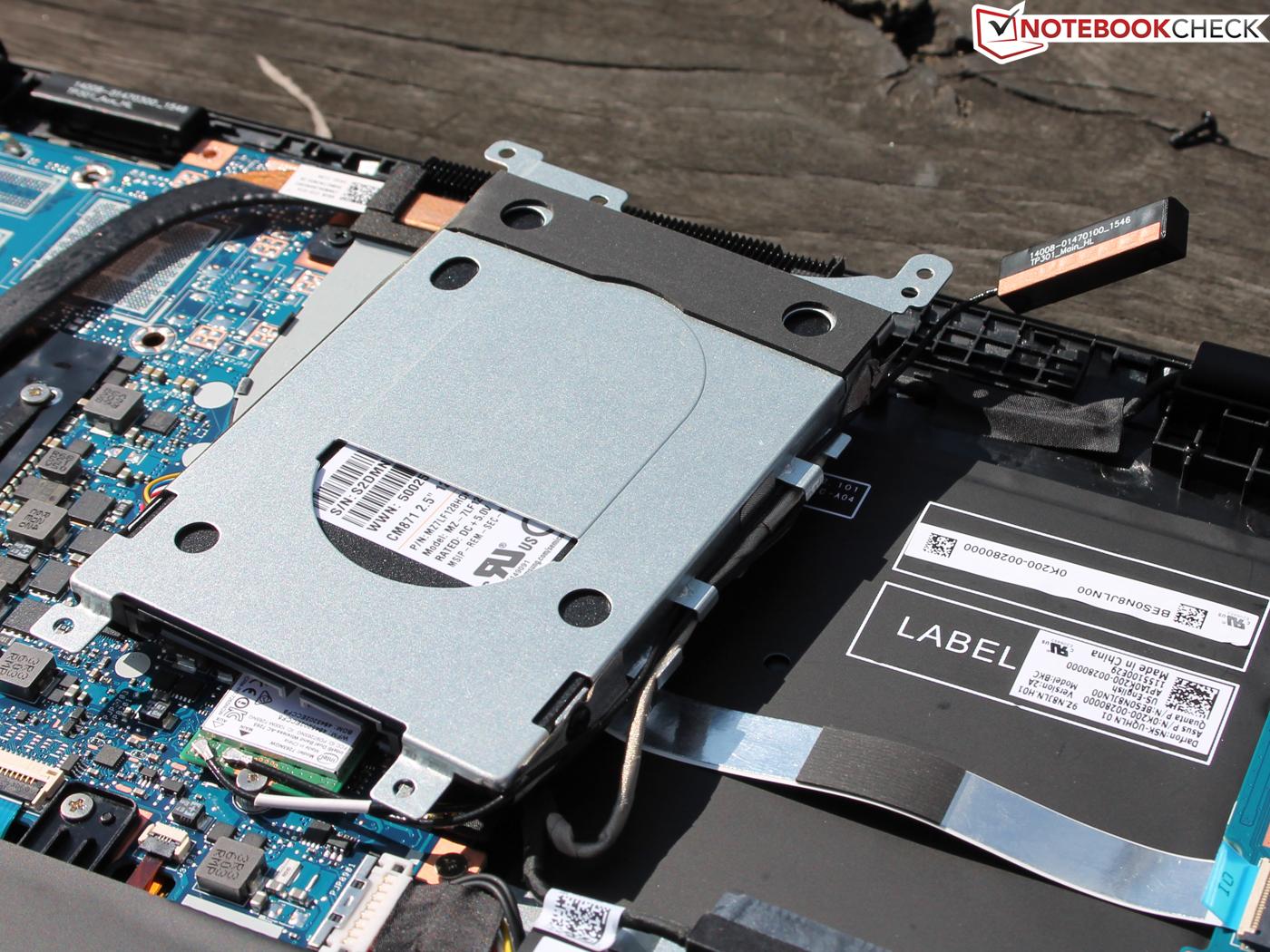 Asus VivoBook Flip TP301UA-DW006T Convertible Review - NotebookCheck