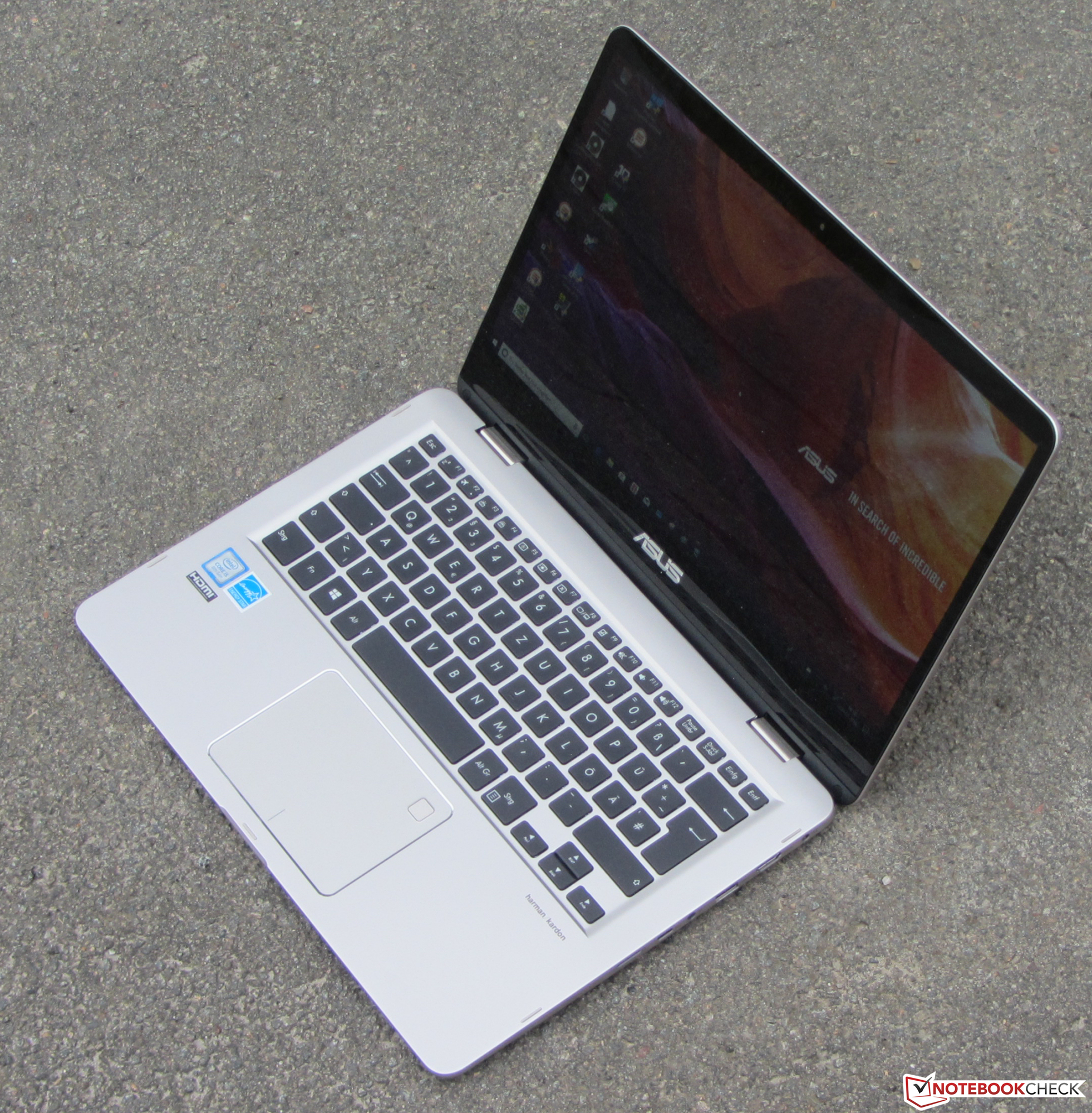 Asus ZenBook Flip 14 UX461UA (i5-8250U, SSD, FHD