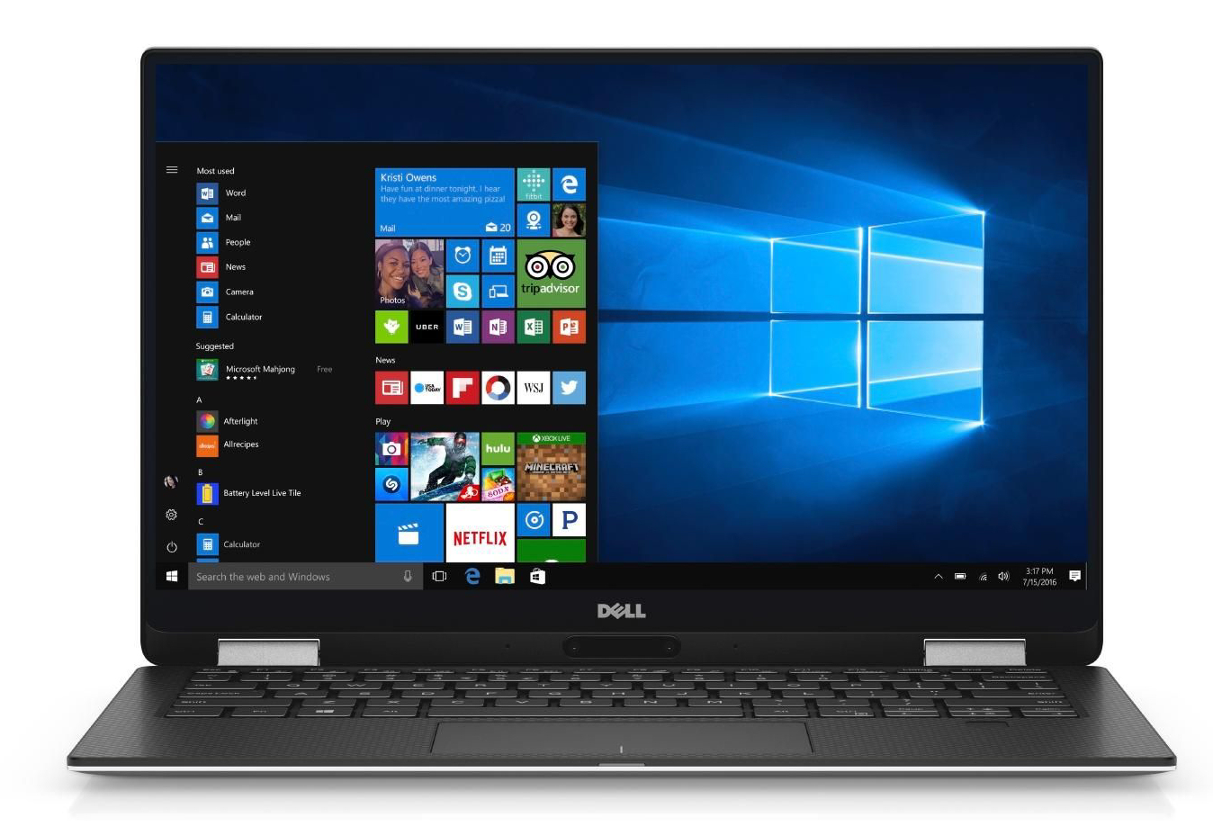 Dell XPS 13 9365 (7Y54, QHD+) Convertible Review - NotebookCheck.net Reviews