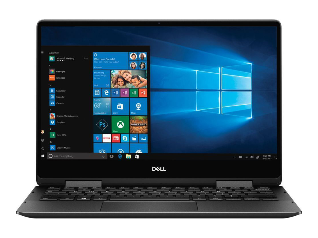 Dell Inspiron 13 7386 2-in-1 Black Edition (i7-8565U, 16 GB RAM, 512