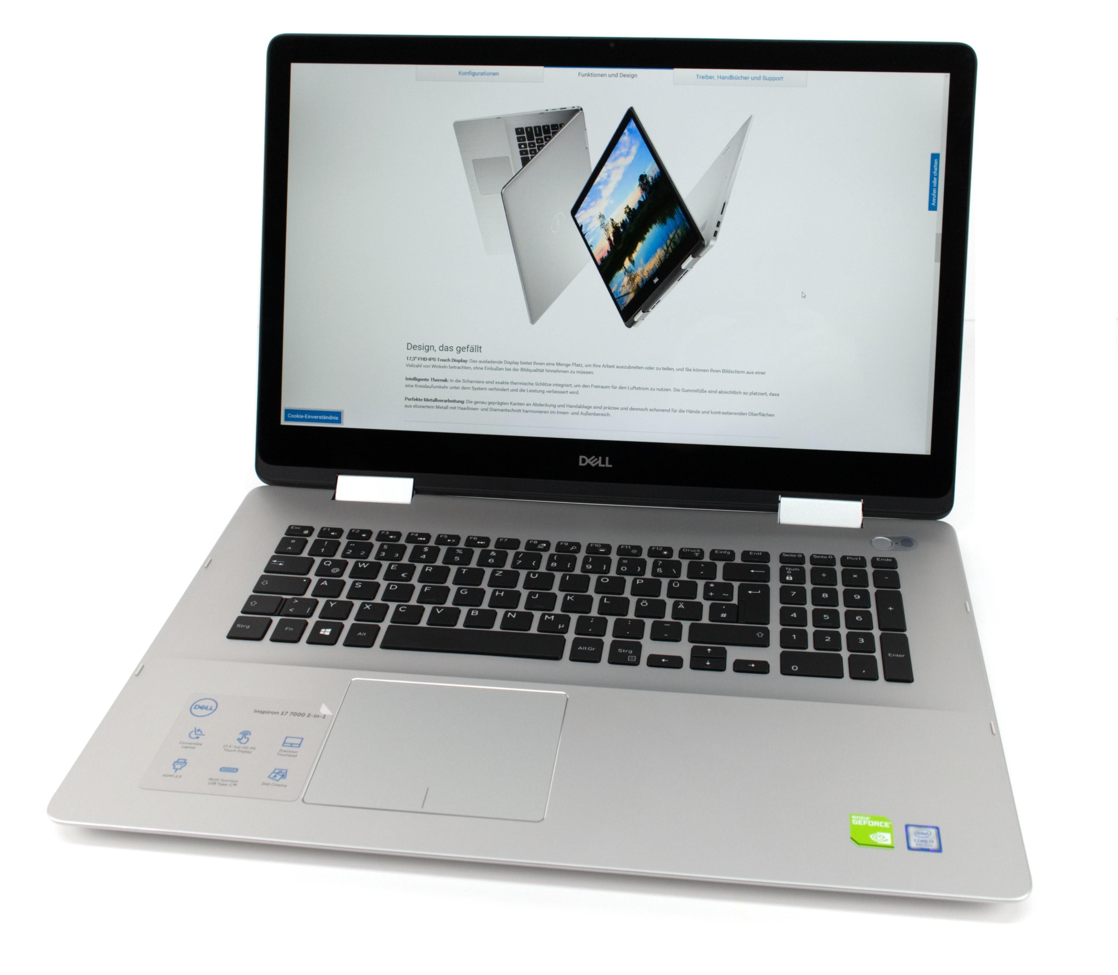 Dell Inspiron 17-7786 (i7-8565U, 16 GB, 17-inch Touch, MX