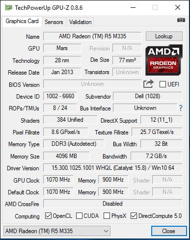 amd radeon r5 m335 graphics driver download