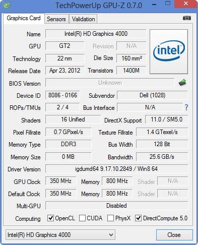 Intel Overclock Graphics Card Intel Hd Graphics 4000 - mbfasr