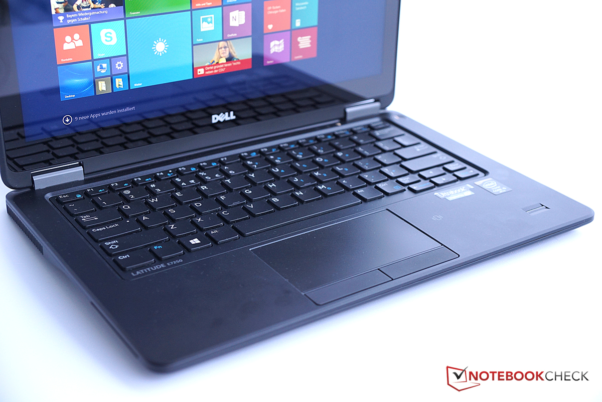 Dell Latitude 12 E7250 Ultrabook Review - NotebookCheck net Reviews