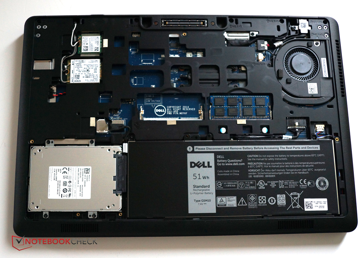 Dell Latitude E5550 Notebook Review - NotebookCheck net Reviews