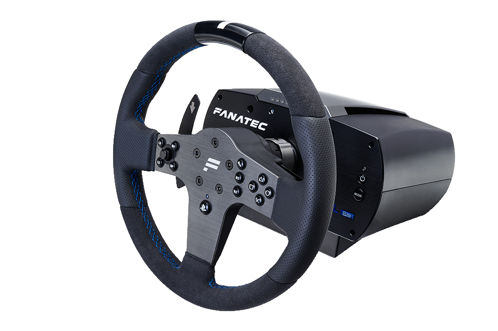 Steering Wheels, Gear Sticks and Foot Pedals - A Racing