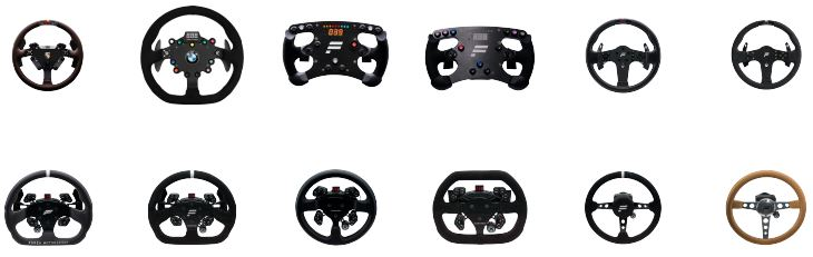 Steering Wheels, Gear Sticks and Foot Pedals - A Racing Wheel Market